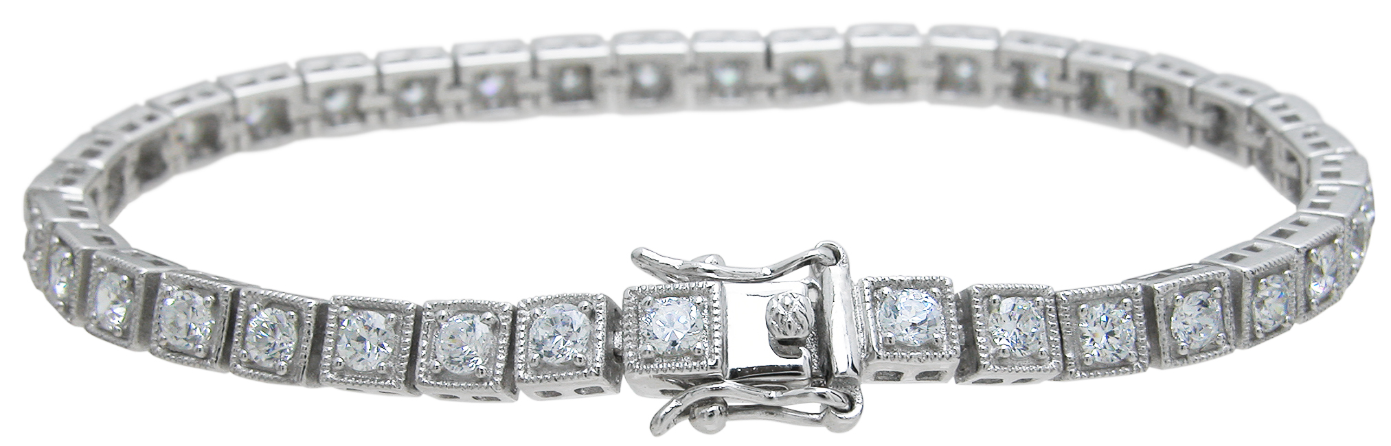 Drop Ship 925 Sterling Silver Anitque Style Bracelet