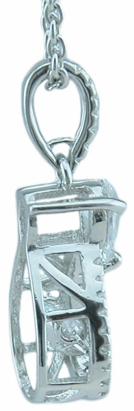 Drop Ship Sterling Silver Dancing Pendant