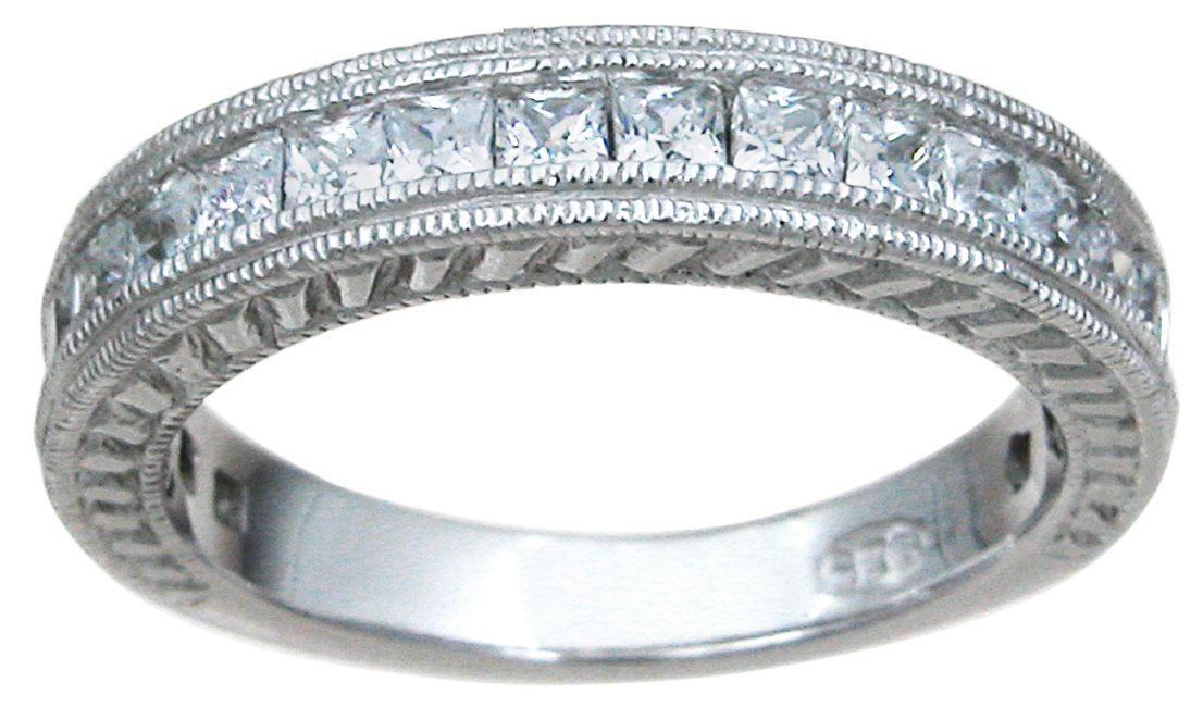 Plutus Brands 925 Sterling Silver Wedding Band
