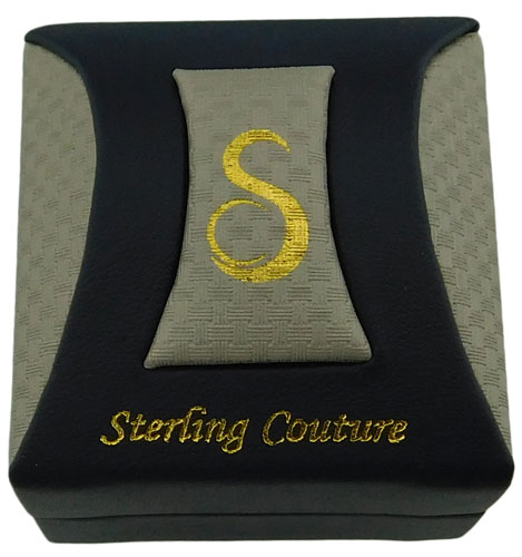 Sterling Couture 925 silver bridal wedding band
